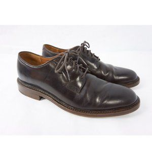 Frye Jones Oxford Chocolate Brown Leather Shoes